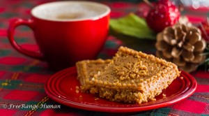 Holiday Lattes with Paleo Shortbread