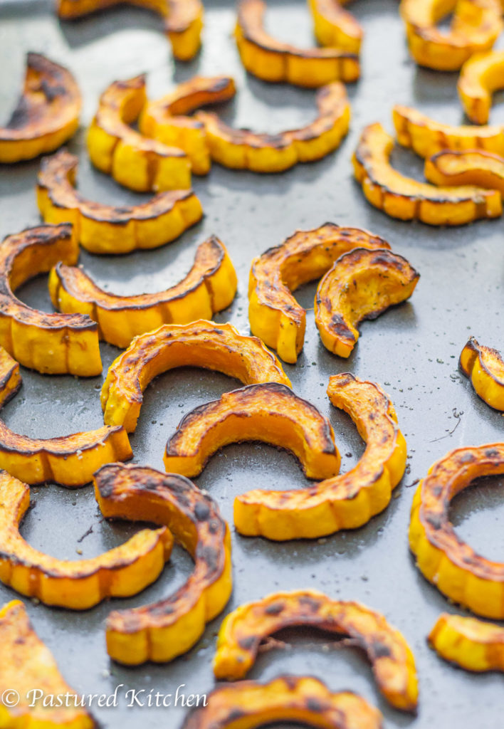 Oven Baked Delicata Squash Fries
