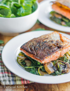 Skillet Salmon Fillets