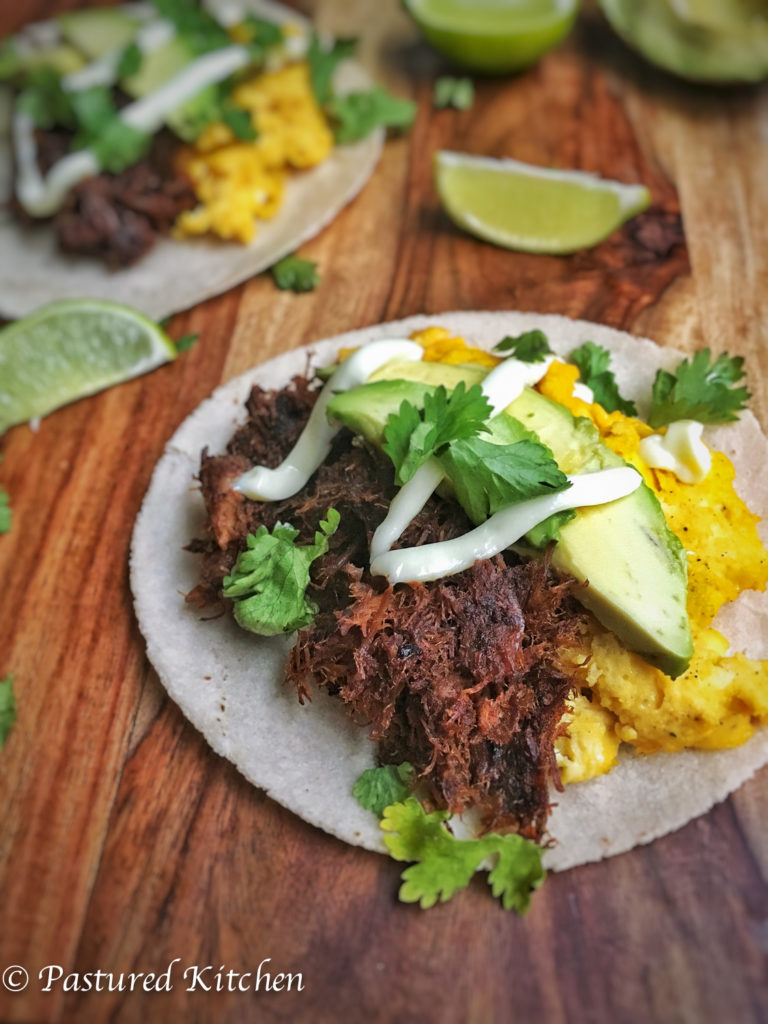 Green Chile Breakfast Tacos